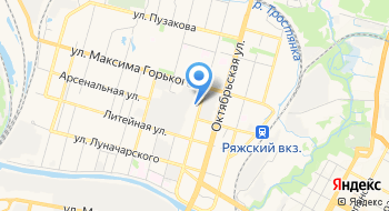 МУДО ДЮСШ Юность на карте