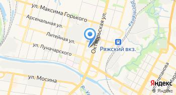 Тис-регион на карте