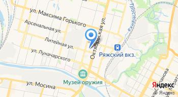 ГПОУ ТО Тульской области Тульский техникум социальных технологий на карте