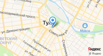 Комитет ЗАГС администрации города Тулы на карте