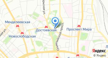 Ассоциация тренинговых компаний Москвы на карте