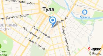 Тульский педагогический колледж на карте