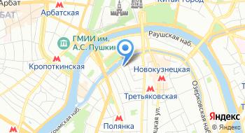 Представительство Европейского Союза в России на карте