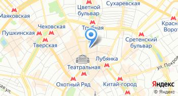 Центральный банк России на карте