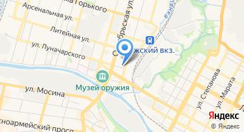 Твинтек на карте