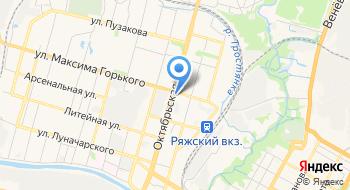 ГУЗ Городская больница №2 г. Тулы Лечебно-восстановительный комплекс на карте