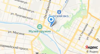 Российское Экологическое Движение Зеленые на карте