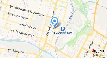 Стадион на карте