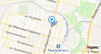 Комитет ЗАГС администрации города Тулы Отдел ЗАГС по Зареченскому району на карте