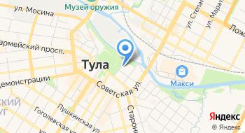 УФСБ России по Тульской области на карте