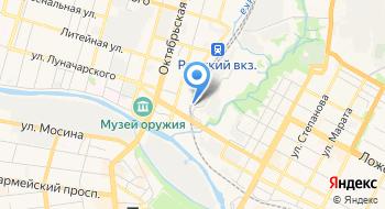 РЖД Тульская механизированная дистанция погрузочно-разгрузочных работ и коммерческих операций на карте