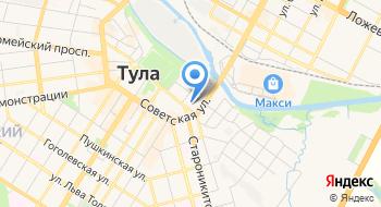 Государственная телерадиокомпания Тула, филиал ВГТРК на карте