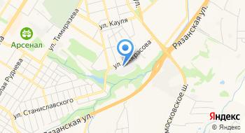 Тульское Геодезическое Объединение Геоконтур на карте
