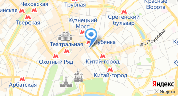 Клубный офис Cabinet Lounge на карте