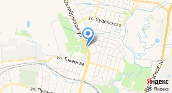 Комсомольский парк культуры и отдыха на карте
