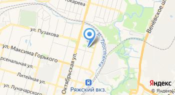 ГУЗ ГБ №2 им. Е.Г. Лазарева г. Тулы Медицинский центр на карте