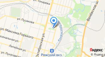 Наружка-Тула на карте