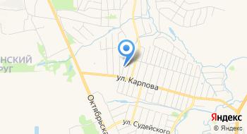 ГУЗ ГБ № 10 города Тулы на карте
