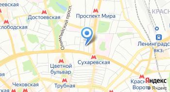 Центр Евразийского Сотрудничества и Развития на карте
