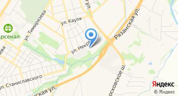 Вотерхаус на карте