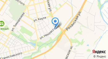 Тульский филиал ФГБУ ЦНМВЛ на карте