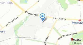 Инвакон на карте