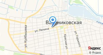 Недвижимость в Варениковской на карте