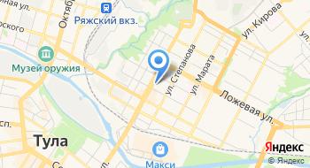 Тульский завод светопрозрачных конструкций на карте