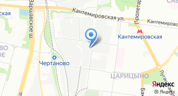 Ским на карте