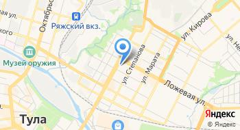 Нотариус Дудкин В.В. на карте