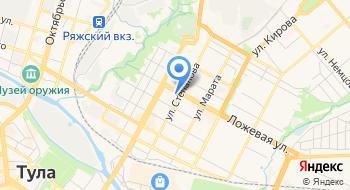 Отделение почтовой связи Тула 300001 на карте