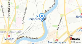 Коворкинг-хостел Дерево Москва на карте