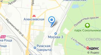 Вниижт на карте