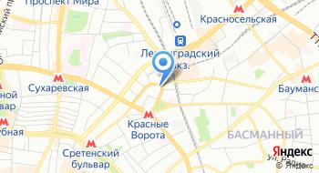 Inflexio.ru на карте