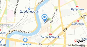 Донау Лаб Москва на карте