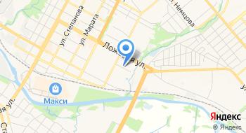 Диспансер онкологический Тульский областной, ГУЗ, регистратура на карте