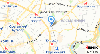 Региональная общественная организация Московский городской союз автомобилистов на карте