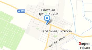 Курчанский, ПСК на карте