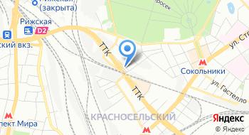 Автосервис в Сокольниках на карте