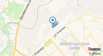Дилерский центр УАЗ в Туле на карте