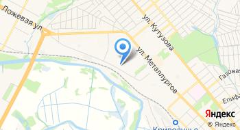 Объединение домашний хорёк Тула и Тульская область на карте