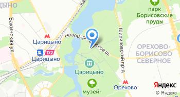 Государственный историко-архитектурный, художественный и ландшафтный музей-заповедник Царицыно на карте