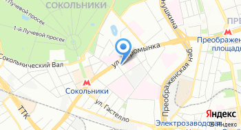 Русский страус на карте