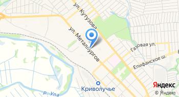 Следственный отдел по Пролетарскому району СУ СК России по Тульской области на карте