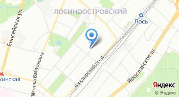Центр творчества Лосиноостровский на карте