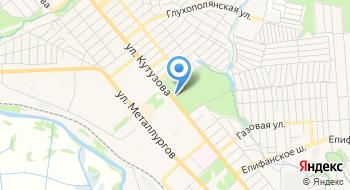 ГУ ТО Тульские парки Филиал Парк культуры и отдыха Пролетарский на карте