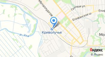 Железнодорожная станция Криволучье на карте