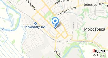 Филиал ГУЗ Детской стоматологической поликлиника №1 города Тулы на карте