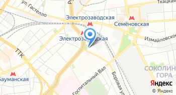 Фабрика офиса на карте
