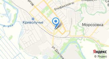 Детская школа искусств № 1 г. Тулы на карте